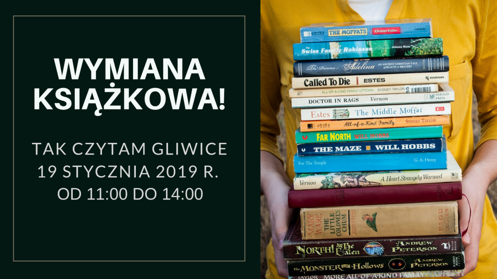 Wymiana książkowa w Gliwicach @ Zwycięstwa 34