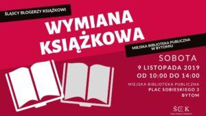 Wymiana książkowa w Bytomiu @ plac Sobieskiego 3