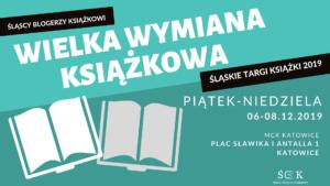 Wielka wymiana książek na Śląskich Targach Książki @ plac Sławika i Antalla 1