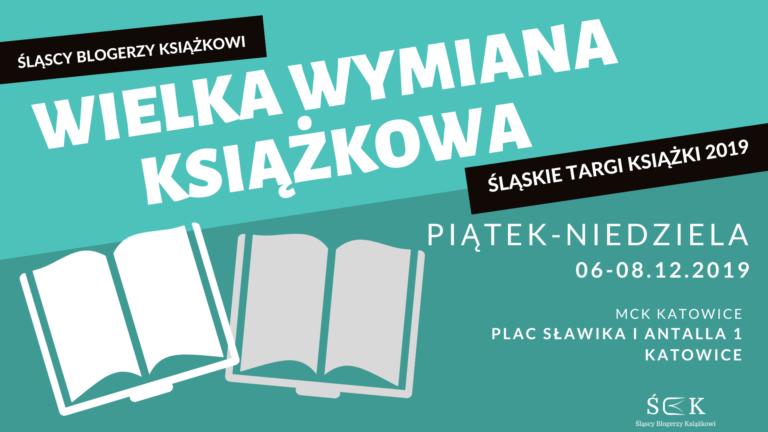 Wielka trzydniowa wymiana książkowa na Śląskich Targach Książki