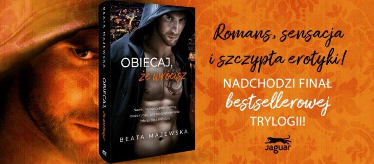Miłość ponad nienawiścią. Nowa książka Beaty Majewskiej już w sprzedaży